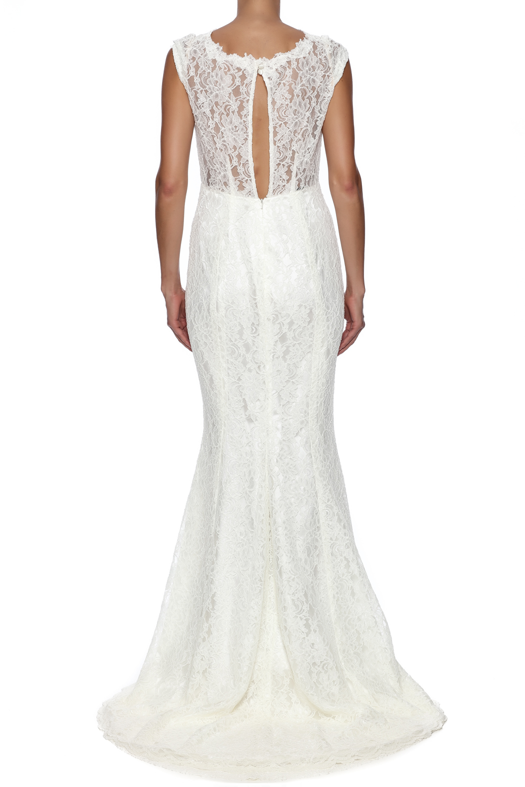 Stephanie D Couture Olivia Gown - Back Cropped Image