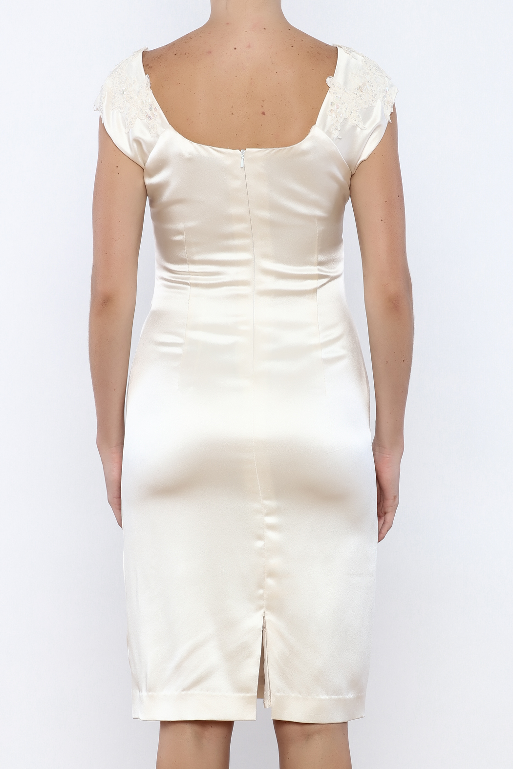 Stephanie D Couture Sophie Dress - Back Cropped Image