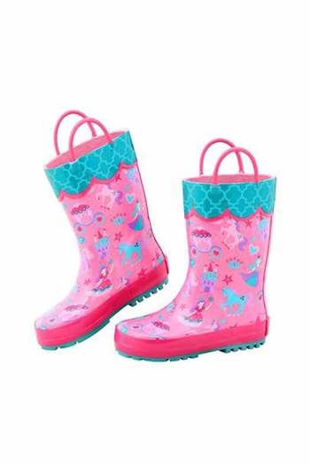 Stephen Joseph Children's Patterned Rainboots From Richmond By Trend Inspiration Patterned Rain Boots