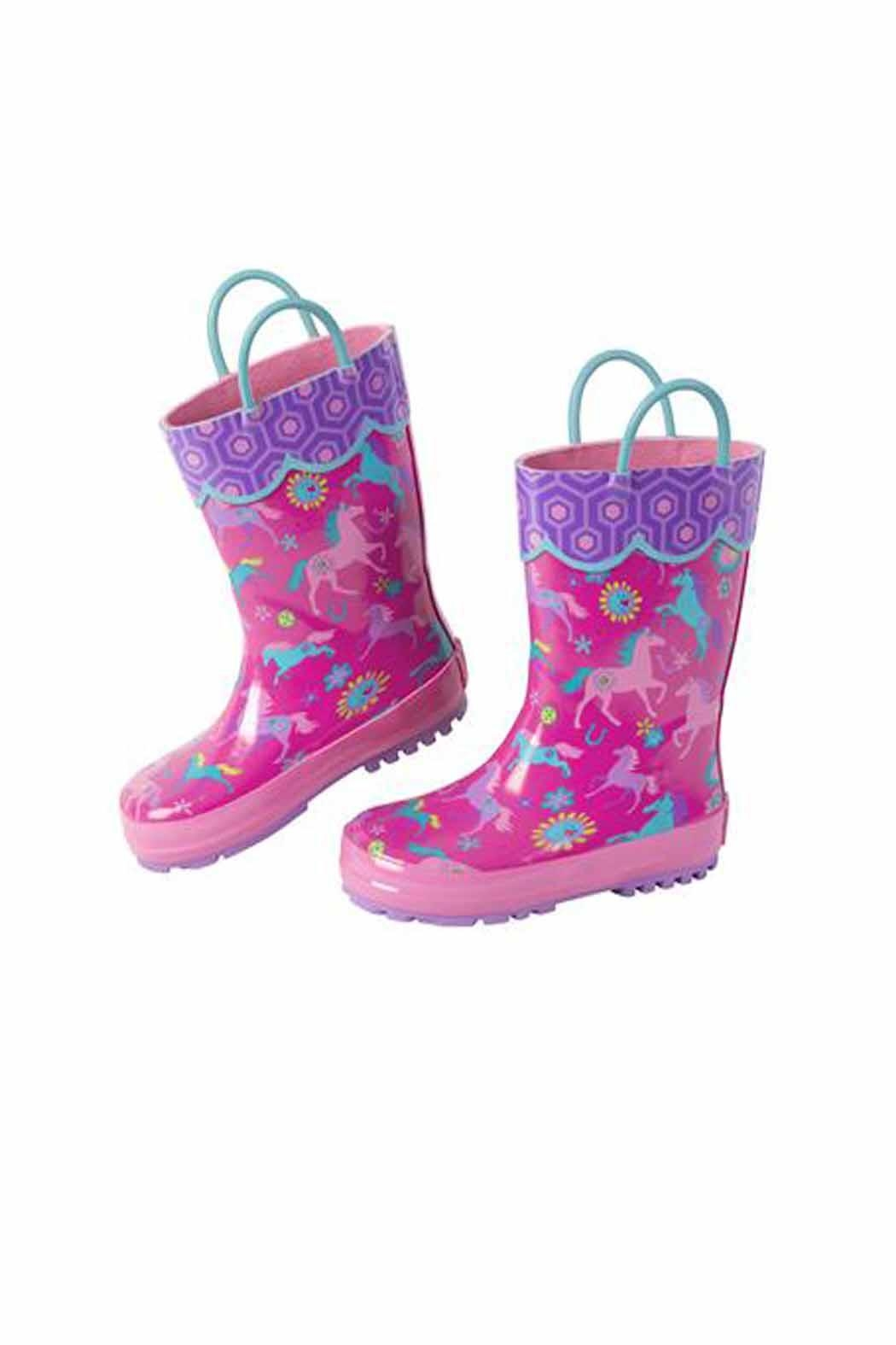 Patterned Rain Boots Magnificent Decorating Ideas