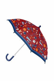 Stephen Joseph Children's Patterned Umbrella - Front cropped
