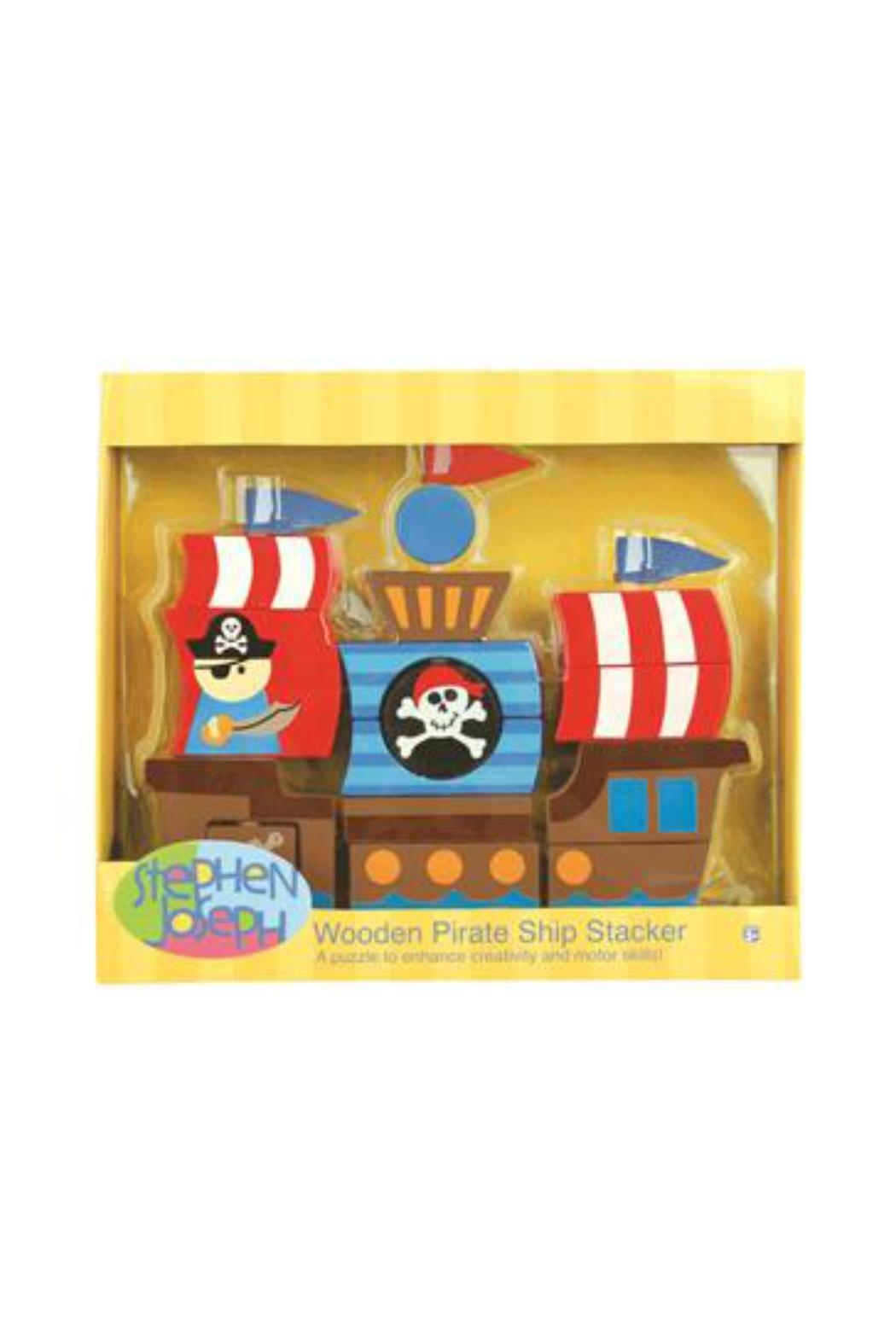 Stephen Joseph Stackable Pirate Blocks - Side Cropped Image