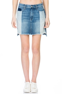 Cello Jeans Stepped Blocked Skirt - Product List Image