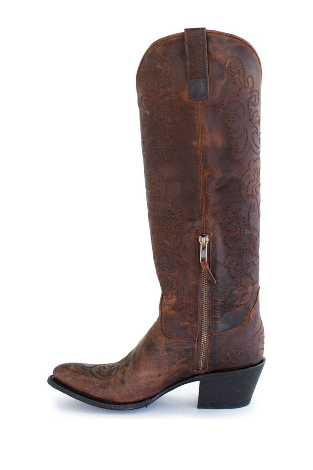 Miss Macie Steppin Style Boots - Front Full Image