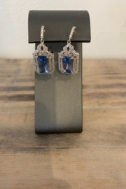 Sterling by Brooks Sterling Cinderella Earrings - Product Mini Image