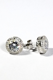 Italian Ice Sterling Halo Studs - Product Mini Image
