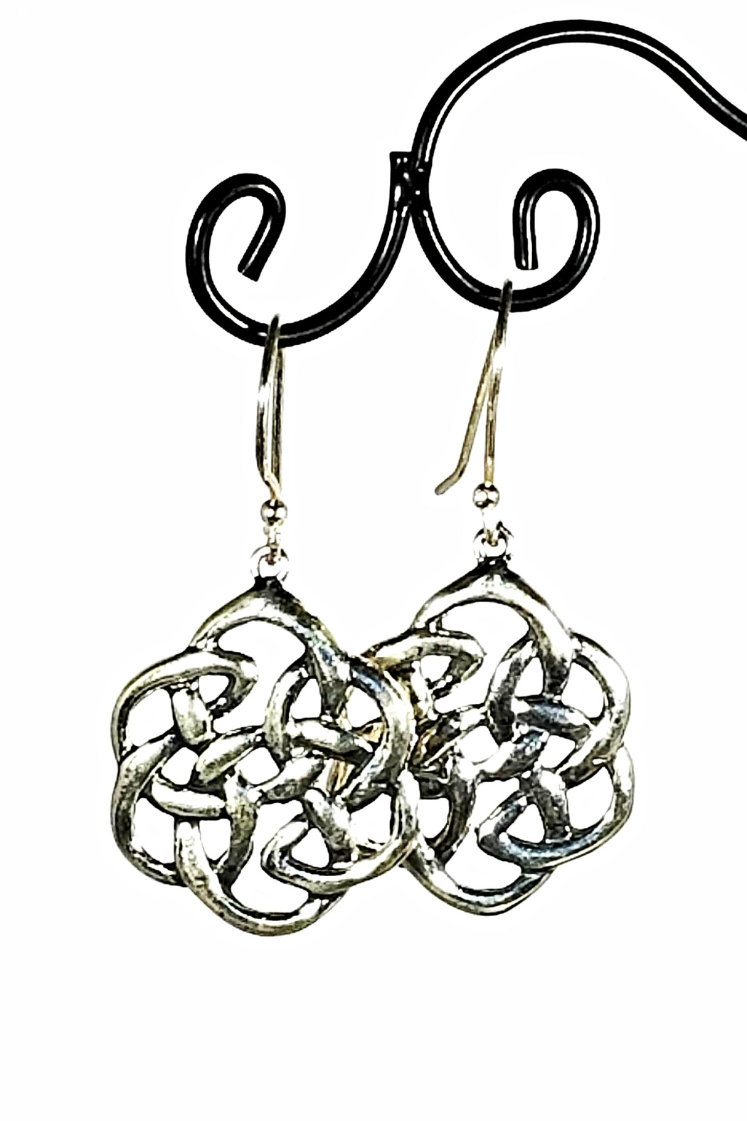 Italian Ice Sterling Mandala Earrings - Main Image