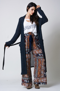 wanderlux  Sterling Mixed Media Cardigan - Product List Image