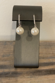 Sterling by Brooks Sterling Pearl Drop Earring - Product Mini Image