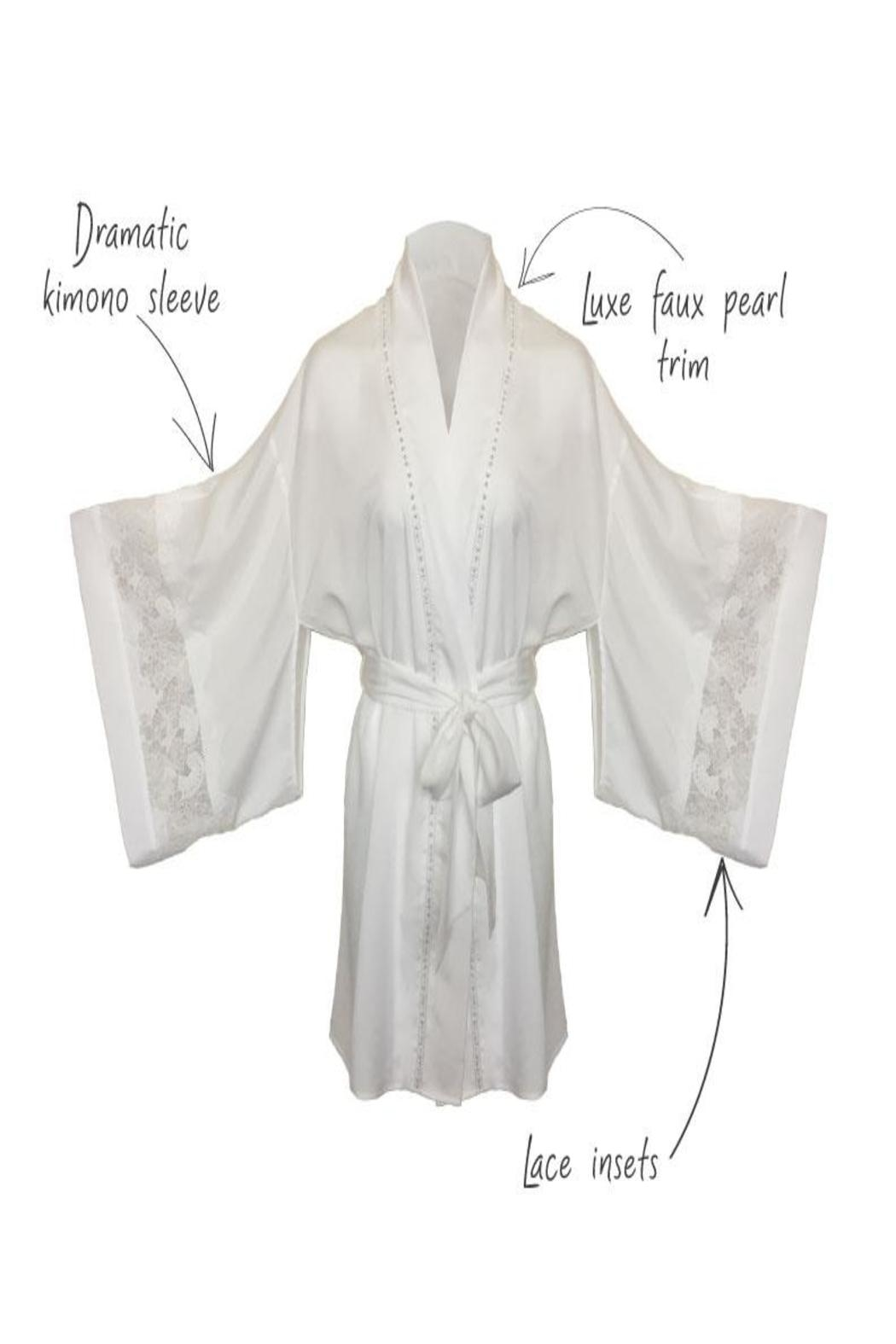 Thistle and Spire Sterling Pearl Kimono - Front Full Image
