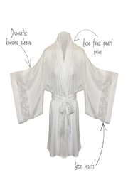 Thistle and Spire Sterling Pearl Kimono - Front full body