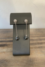 Sterling by Brooks Sterling Pearl of the Sea Dangle Earring - Product Mini Image
