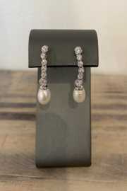 Sterling by Brooks Sterling Princess Pearl Drop - Product Mini Image