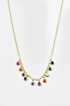 Shoptiques Product: Sterling Rainbow Necklace