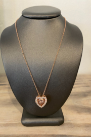 Sterling by Brooks Sterling Rose Gold in Motion Necklace - Product Mini Image