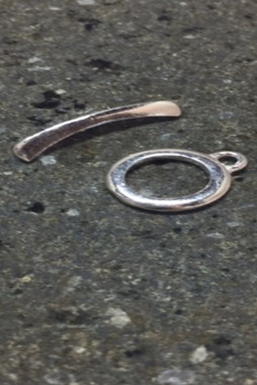 Vachon Designs Sterling Round Clasp - Front Full Image