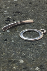 Vachon Designs Sterling Round Clasp - Front cropped