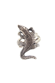 Som's Sterling-Silver Alligator Ring - Product Mini Image