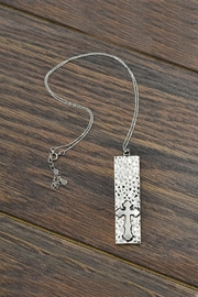 JChronicles Sterling-Silver-Chain Cross-Pendant Necklace - Product Mini Image