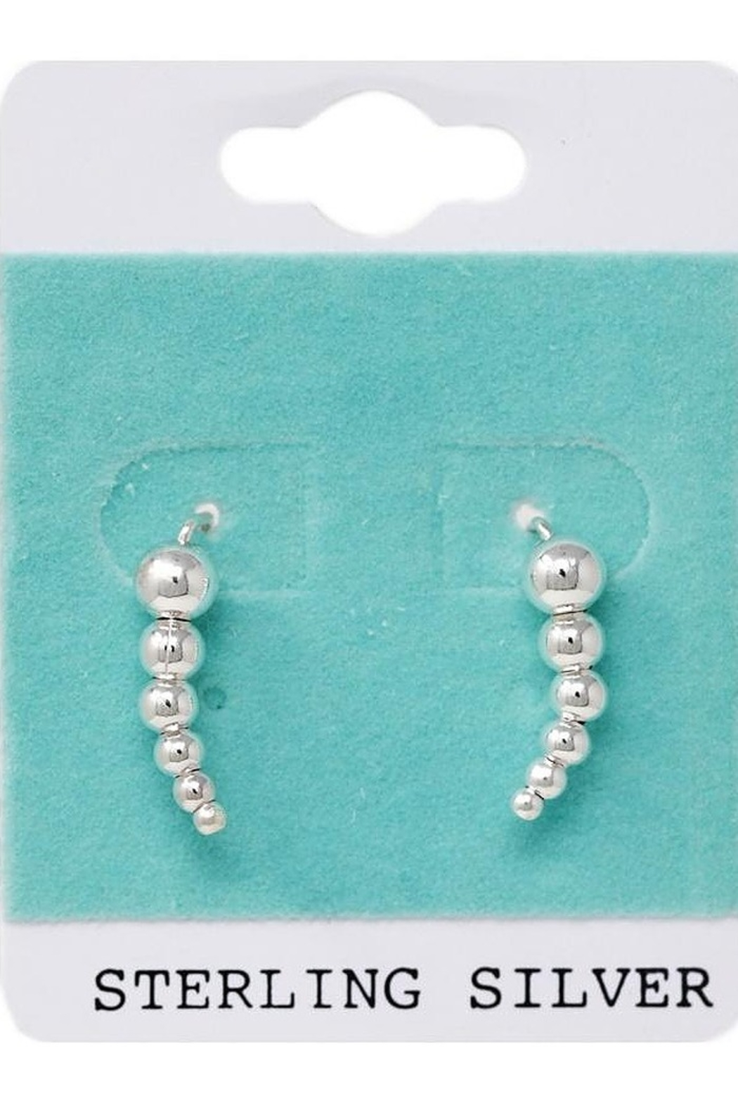 US Jewelry House Sterling Silver Earrings - Main Image