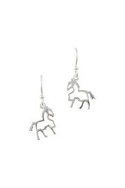 Tomas Sterling Silver Horse Earrings - Product Mini Image