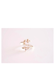 Simply Chic Sterling-Silver Leaf Ring - Product Mini Image