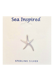 Presco STERLING SILVER MED STARFISH PENDANT - Front cropped