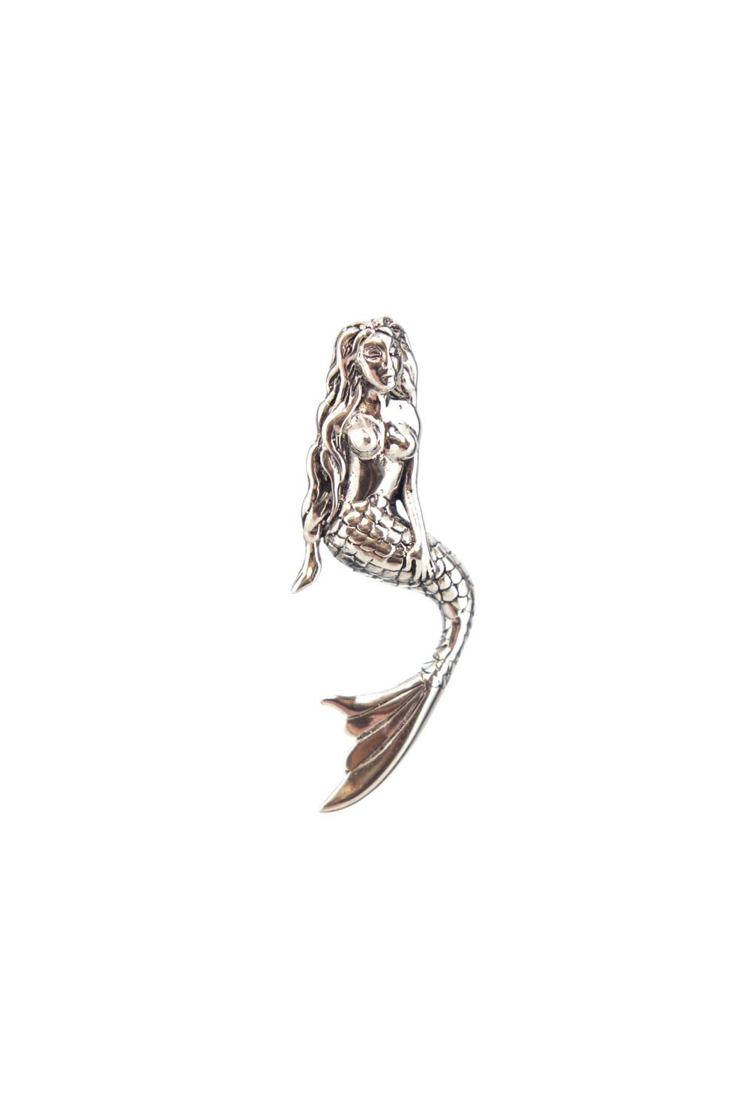 Som's Sterling-Silver Mermaid Pendant - Main Image