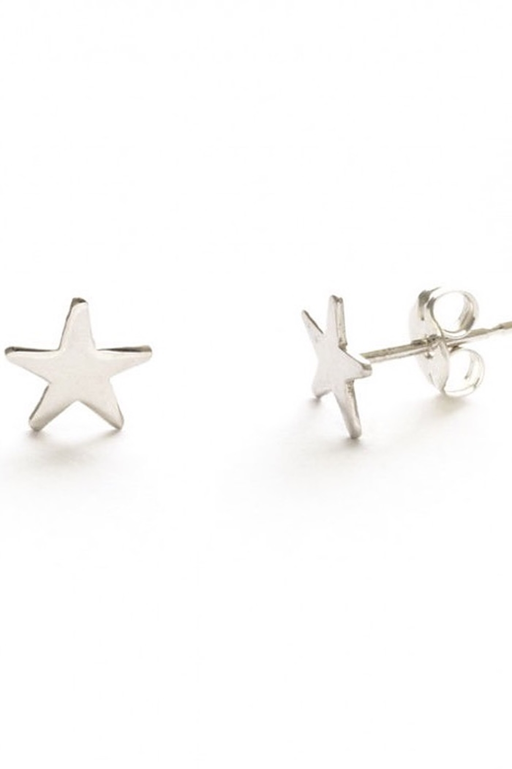 Amano Trading, Inc. sterling silver star studs - Main Image