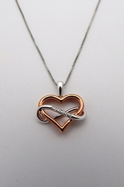 Sterling Silver Jewellery Diamond Heart Necklace - Product Mini Image