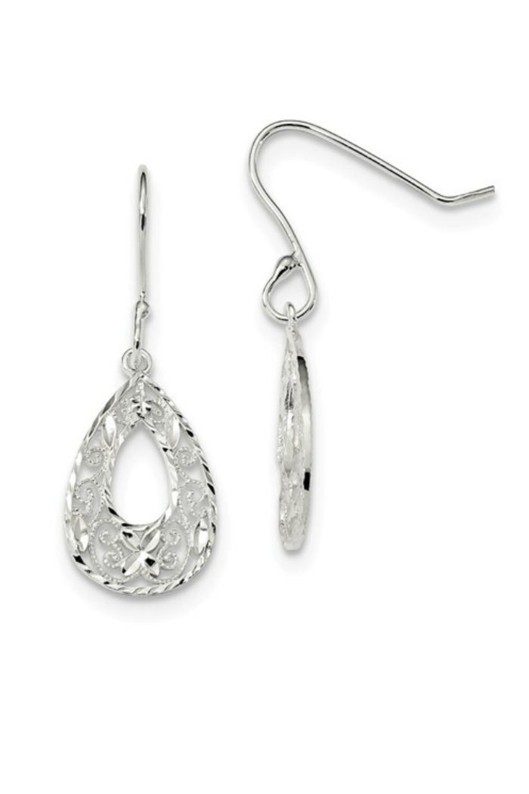 Sterling Silver Jewellery Sterling Silver Earrings - Main Image