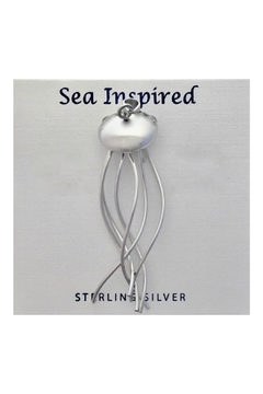 Soap and Water Newport Sterlingsilver Jellyfish Necklace - Product List Image