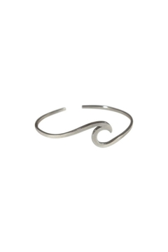 Soap and Water Newport Sterlingsilver Wave Bracelet - Product List Image