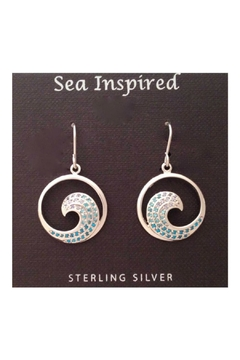 Soap and Water Newport Sterlingsilver Wave Earrings - Product List Image