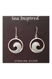 Soap and Water Newport Sterlingsilver Wave Earrings - Product Mini Image