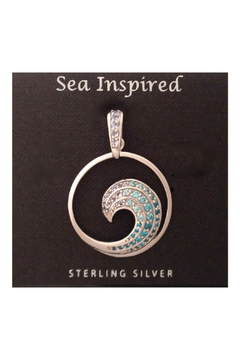 Soap and Water Newport Sterlingsilver Wave Necklace - Product List Image