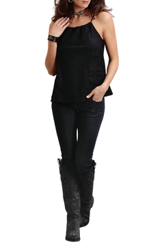 Stetson Black Lace Tank - Product List Image