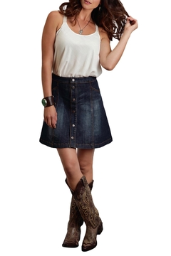 Stetson Denim A Line Skirt - Alternate List Image