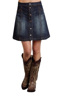 Stetson Denim A Line Skirt - Product List Image