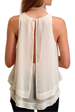 Stetson Open-Back Cream Tank - Alternate List Image