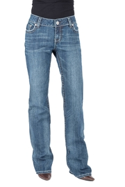 Stetson Relaxed Indigo Trousers - Product Mini Image