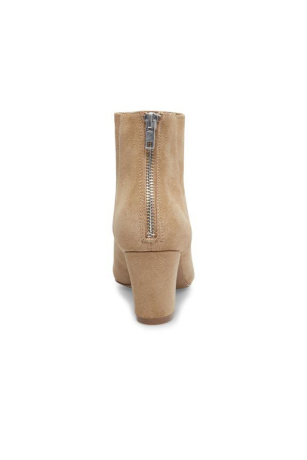 Steve Madden Mistin Tan Suede Boot - Side Cropped Image
