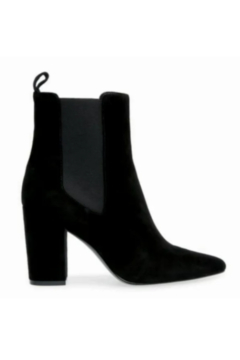 Shoptiques Product: Steve Madden Subtle Black Suede Ankle Boot