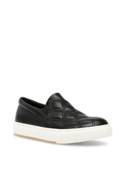 Steve Madden Women's Coulter Quilted in Black - Front cropped