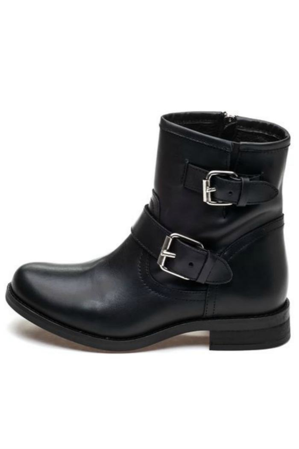 Steve Madden Cain Buckle Boot - Front Cropped Image