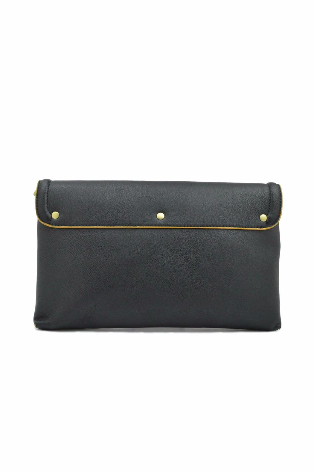 Steve Madden Chain Clutch Crossbody - Back Cropped Image