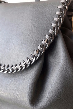 Steve Madden Chain Leather Bag - Alternate List Image