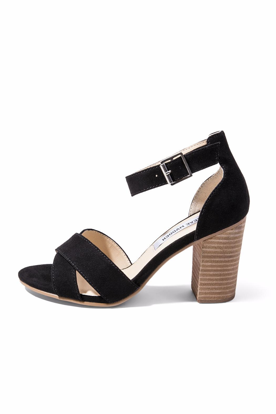 Steve Madden Chunky Heel Sandal - Front Cropped Image