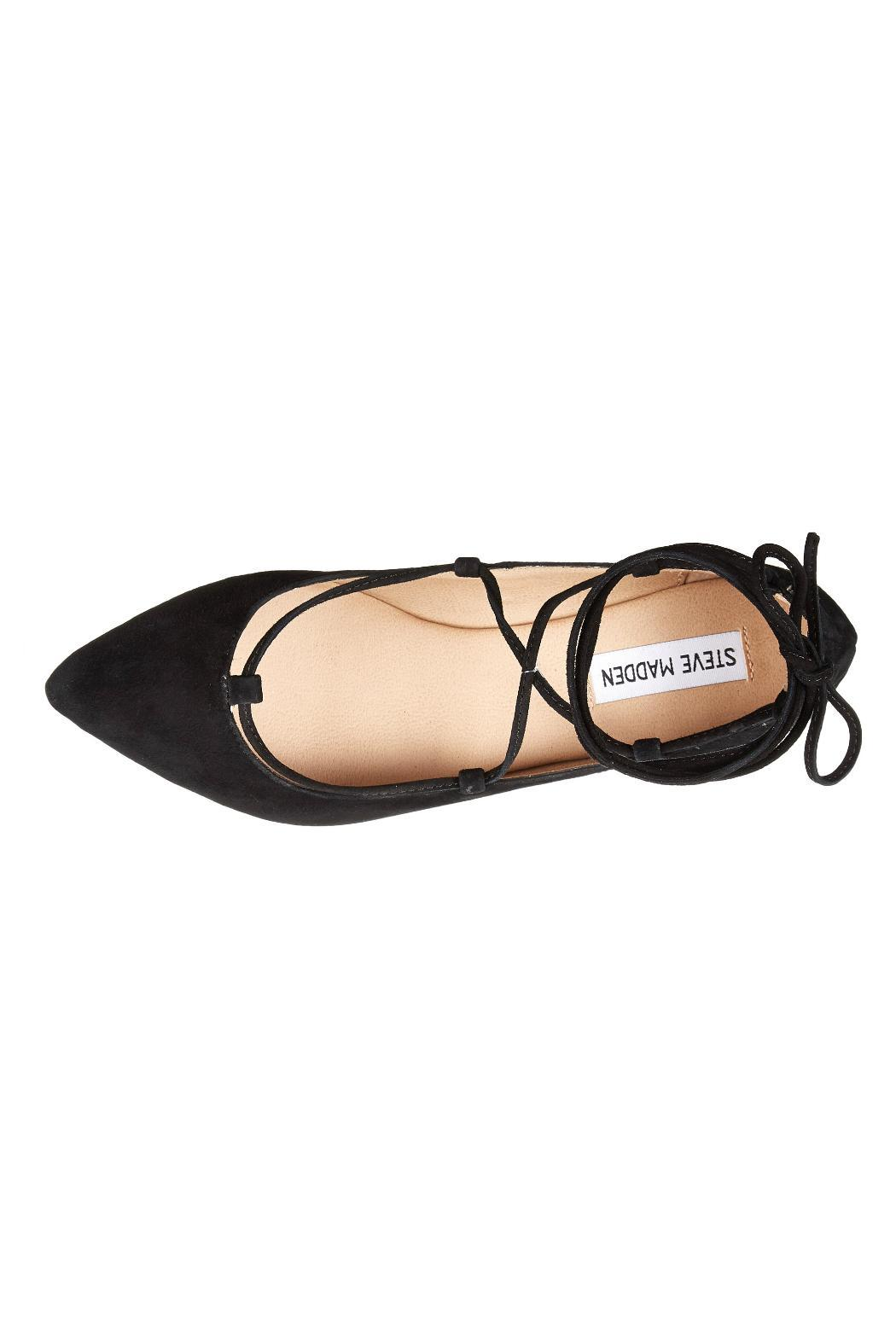 0b45bac849f Steve Madden Eleanorr Lace-Up Flat from Branford by Shoetique ...