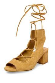 Steve Madden Lace Up Sandal - Front cropped